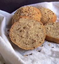 Seeded Gluten Free Buns