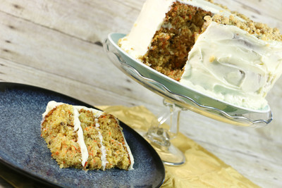 Grandma's Triple Layer Carrot Cake