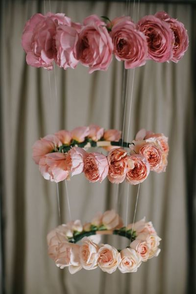 Unbelievable Ombre Suspended Roses