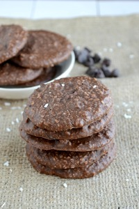 No-Bake Double Chocolate Chip Cookies