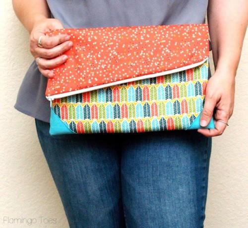Simple Fold Over Clutch