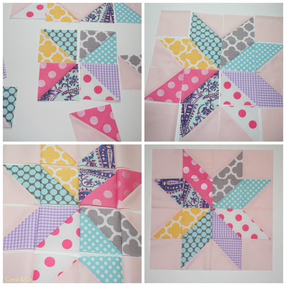 Star Flower Quilt Block Tutorial Allfreesewing Com