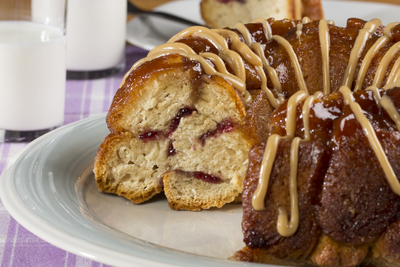 PBJ Monkey Bread