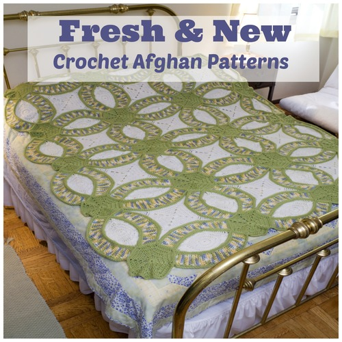 Fresh and New Crochet Afghan Patterns
