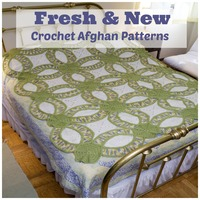 16 Fresh and New Crochet Afghan Patterns