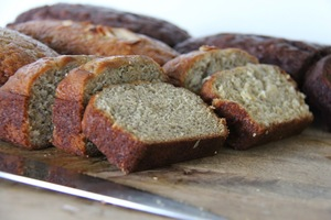 Easy Banana Bread with Coconut Oil