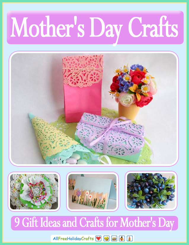 9 gift ideas and crafts for mother 39 s day for Craft ideas for mom