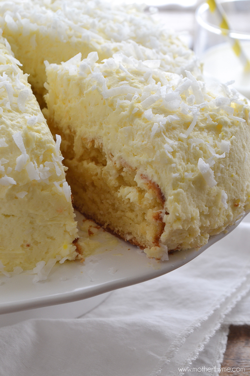 Perfect Coconut Cream Cake