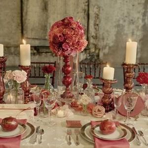 Magical Marsala and Pink Wedding