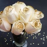 Midas' Touch Rose Bouquet