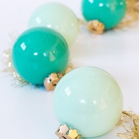 5 Minute Eye Popping Homemade Christmas Ornaments