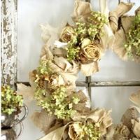 Neutral Fall Wedding DIY Wreath