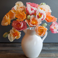 Popping Paper Poppies DIY Wedding Decoration
