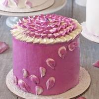 Radiant Orchid Mini Cakes