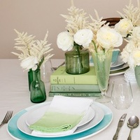 Ombre Dipped DIY Napkins