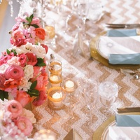Sparkling Pink and Gold Wedding Color Scheme