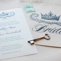 Crown Wedding Invitations