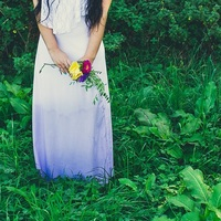 DIY Ombre Wedding Dress Tutorial