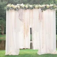 Breathtaking Bohemian Wedding Altar