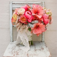 Just Peachy Wedding Bouquet