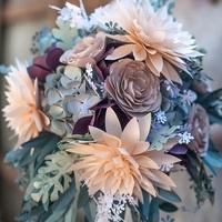 DIY Romantically Rustic Bridal Bouquet