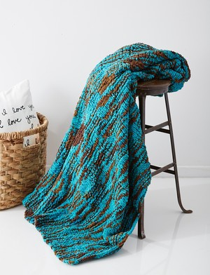 Seafoam Knit Throw