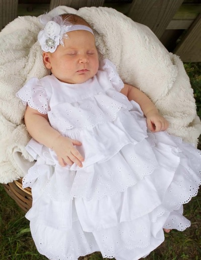 Two Pillowcase Christening Gown