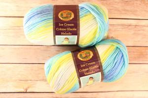 Lion Brand's Ice Cream Yarn