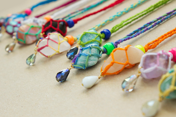 Ecuador Summer DIY Pendants