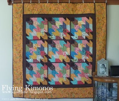 Flying Kimonos Quilt