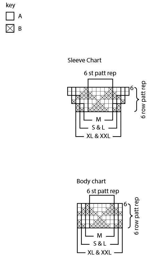 Chart 2 - Garden Row Knit Top