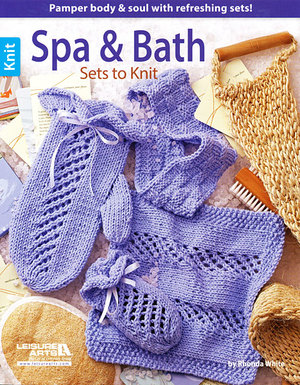 Spa and Bath Sets to Knit