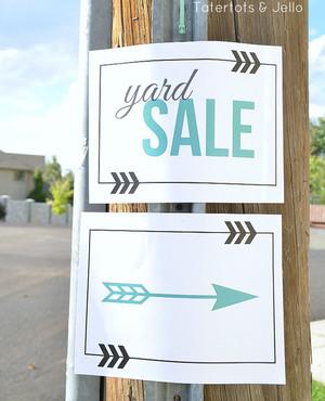 graphic regarding Printable Yard Sale Signs identified as Absolutely free Printable Garden Sale Symptoms