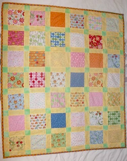 Speedy Charm Pack Baby Quilt Pattern