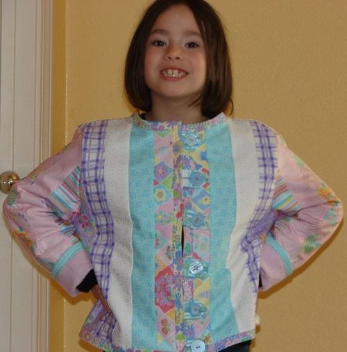 Wearable Jelly Roll Quilt Pattern