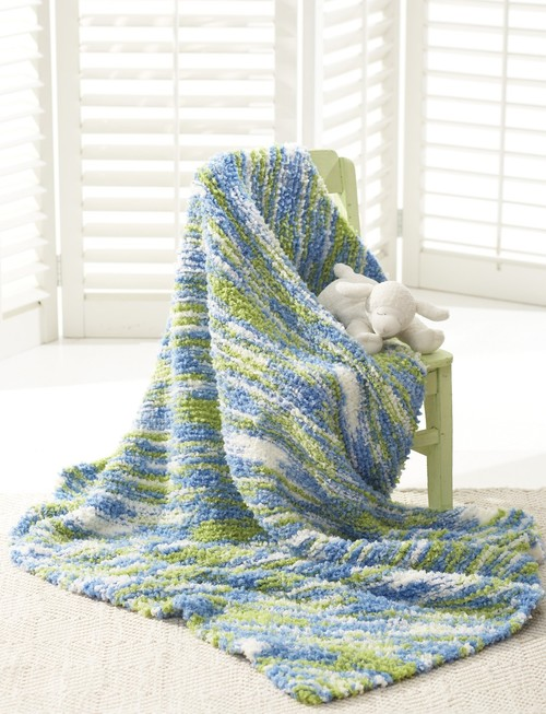 The Land and the Sea Baby Blanket