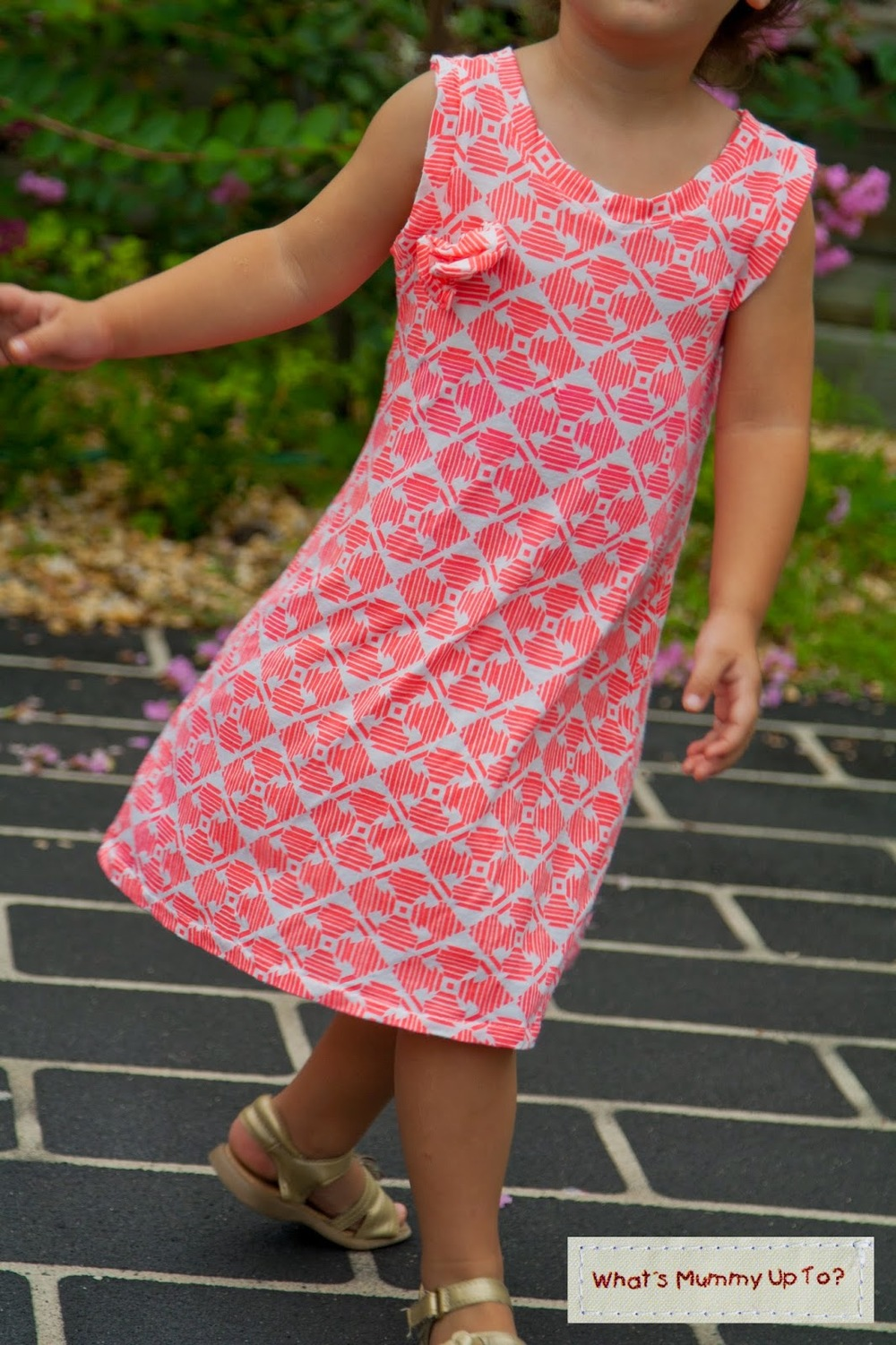 Simple A Line Dress Allfreesewing Com