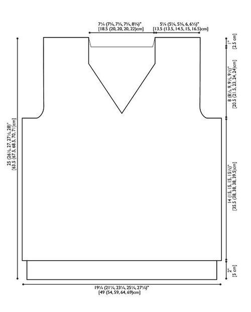 Men's Studious Knit Sweatervest diagram