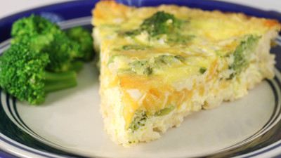 The Best Broccoli Cheese Quiche