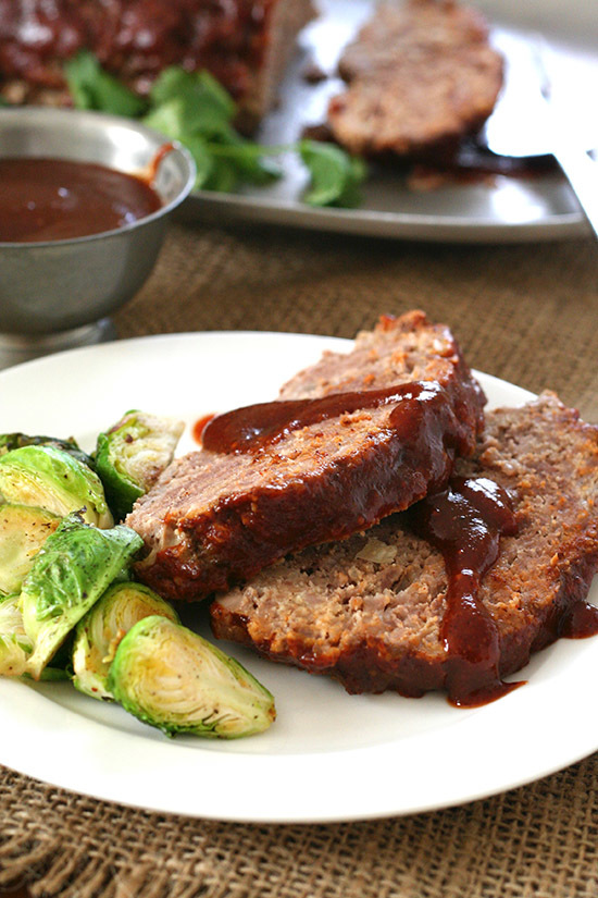 Good for You Slow Cooker BBQ Meatloaf