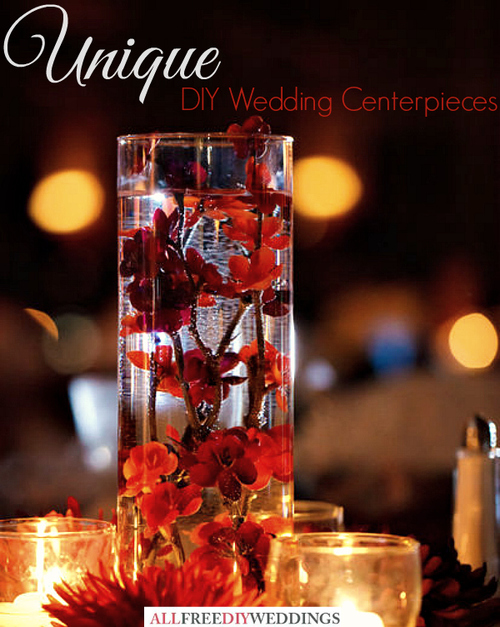 Unique diy wedding centerpieces allfreediyweddings