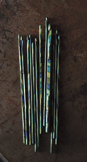Capsian Wood Crochet Hook Set