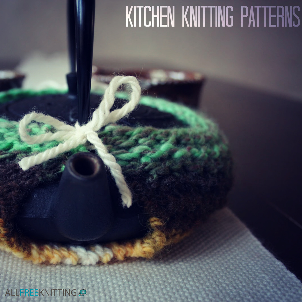 Gaining Extra Stitches In Knitting : 31 Kitchen Knitting Patterns: Free Knit Dishcloth Patterns and More AllFree...