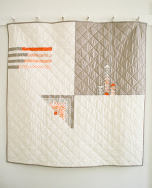 Quilter's Four Square Quilt