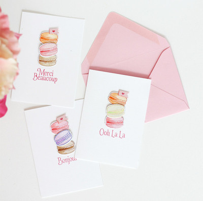From Paris with Love Stationery Set
