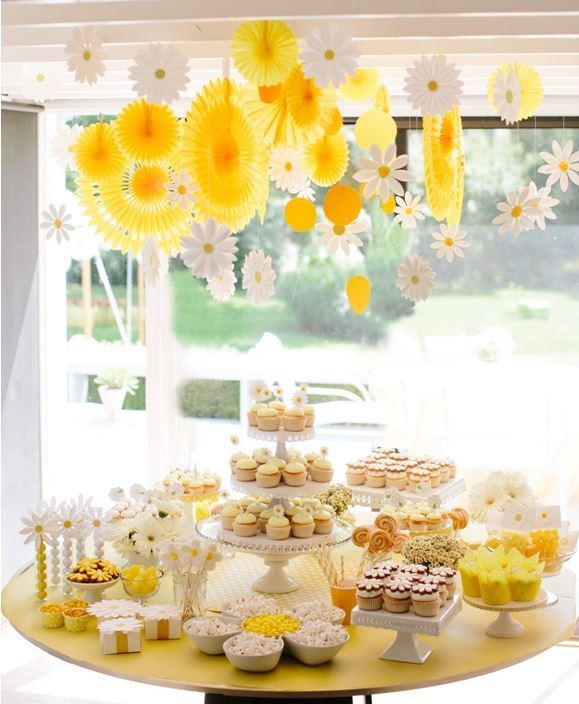 Summer Daisy Bridal Shower