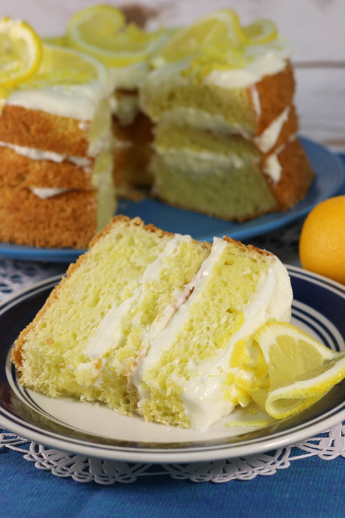 Just Like Olive Gardens Lemon Cream Cake