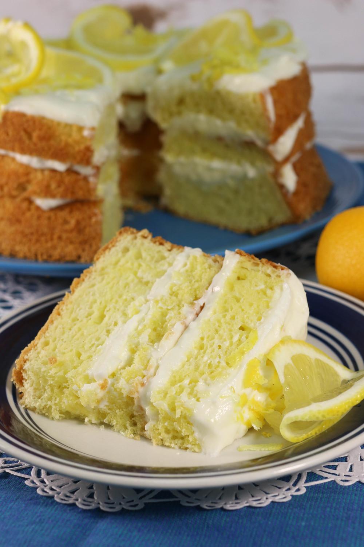 Italian Lemon Cream Cake Olive Garden