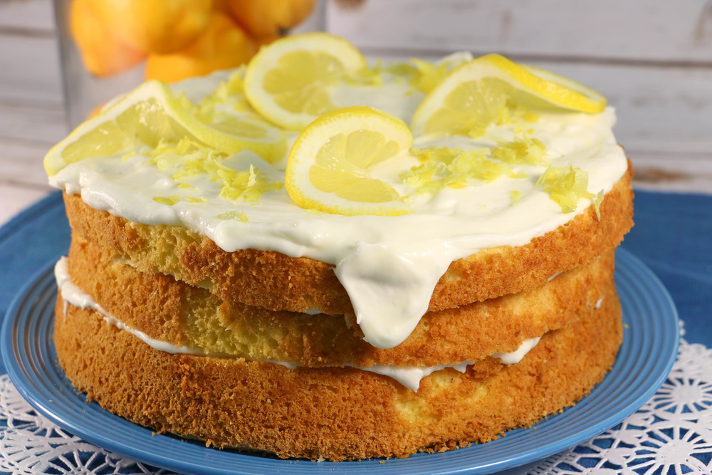 All Recipes Italian Lemon Cream Cake