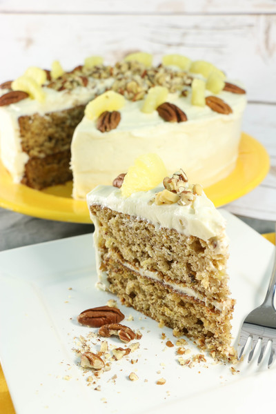 Old-Fashioned Hummingbird Cake